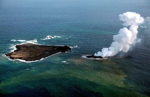 【悲報】小笠原の新島があっけなく消滅