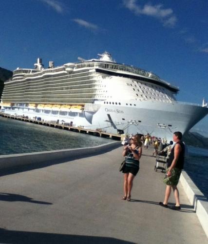 世界最大の豪華客船wwwww