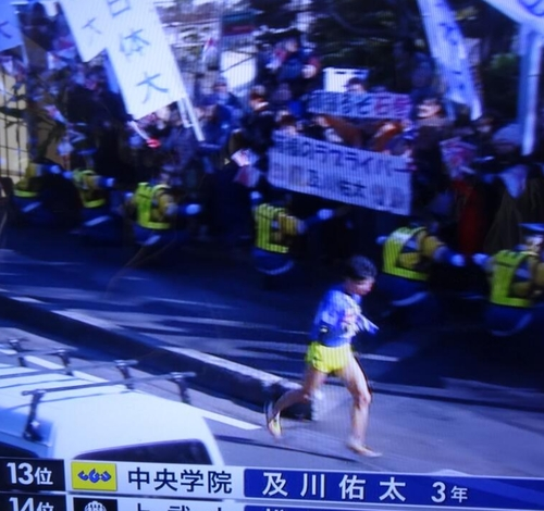 【速報】箱根駅伝第5区に「箱根のラブライバー」中央学院の及川佑太選手が走ってるぞwww【ことり推し】