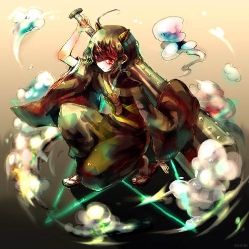 【東方】水鬼鬼神長のイメージ