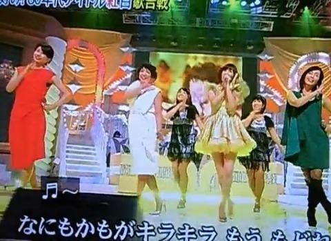 【動画】 フジ加藤綾子がバックダンサー等評価されぬ仕事も手抜きなし