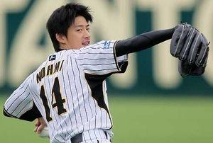 能見篤史(29) 0勝 0敗 11.1回 防御率4.76