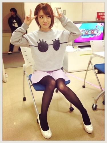 【衝撃画像】AKB48高橋みなみが拒食症?ガリガリじゃんwww