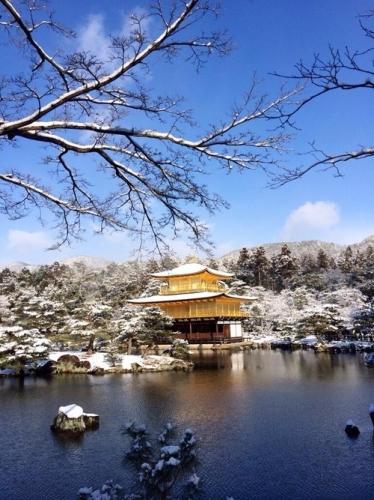 【衝撃】 雪が降った時の金閣寺wwwwwwwwwwww これより美しい建物って存在しないだろ…