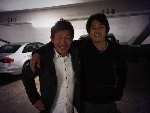シャルケ内田篤人、ドルトムントの丸岡満を飯に連れて行く…丸岡「本当に優しい方」