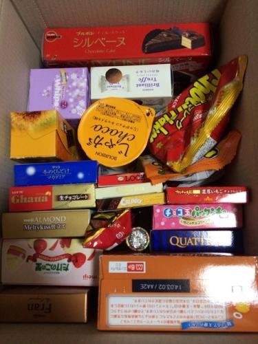 【画像】 菓子8000円分買ったったwwwww