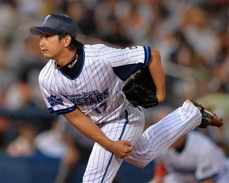 De三嶋にコーチ「ボールが暴れる感じもなくなった」