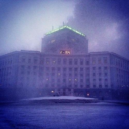 【やべぇ】氷点下64度を記録したロシアが完全に死の街になってる・・・(画像あり)