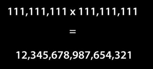 11,111,111×111,111,111=? 思わず「へー!」ってなるちょっと面白い18の事実