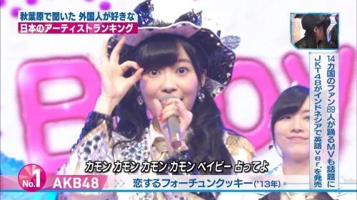 【悲報】Mステの外国人が好きな日本のアーティスト1位AKB48 2位初音ミク 3位浜崎wwwwwww