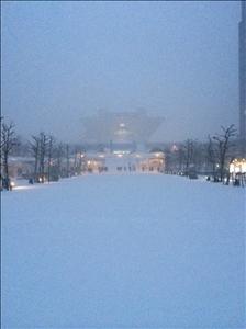 【画像】大雪のせいで東京ビッグサイトが超絶かっこよくなっているwwwwwwwww