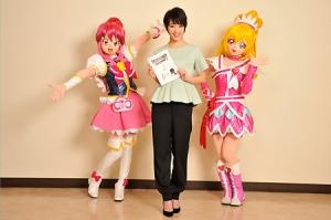 【プリキュア】剛力彩芽さんが映画『NewStage3 永遠のともだち』に少女役で出演!「映画の中でプリキュアを応援でき、プリキュアの世界に入れたことがすごくうれしかったです」