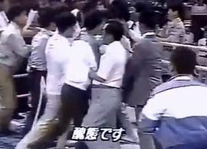 【動画】1988年ソウルオリンピックのボクシングで韓国陣営が乱闘→座り込み これは酷い・・・本当に又ここで五輪をやるのか?