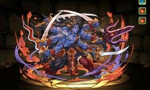 【パズドラ】超絶ドラゴンラッシュ2(地獄級)を闇シヴァパーティ(サブ:赤ソニア、アレス、千代女、ヘラウルズ)でノーコン攻略!!