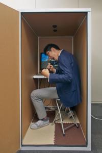 たった5万円で憧れの書斎(?)が手に入る--段ボール製の簡易防音室『だんぼっち』