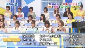 ナカイの窓 芸能人100人集結 一斉調査SP「AKB48 島田晴香が体重測定」の感想