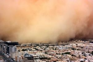黄砂、PM2・5、花粉、トリプル警戒を 九州地方
