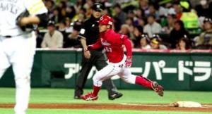【野球】鯉ドラ3田中オープン戦4割! 開幕1軍は確実
