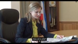 """クリミアの""""美しすぎる""""検事総長ナターリヤ・ポクロンスカヤさん「9歳の娘も喜んいます」 お前ら「えっ」"""