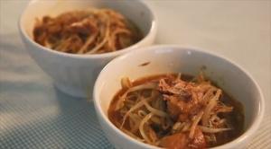 サバとカレーが合う「サバ缶ともやしのカレー煮」好みでニンニクをきかせると美味しい