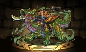 【パズドラ】美髯神・関羽 緑関羽 スキル ステータス スキル上げ 入手方法 進化素材