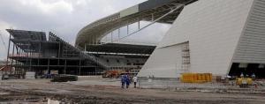 FIFAがブラジルに警告「さっさとスタジアムを完成させろ!」残り10週でも未完成