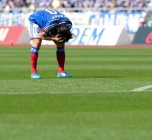 横浜Mは2戦連続の無得点…斎藤学「実力不足なのかな」