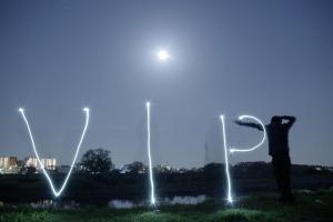 【画像】満月を撮ってきたンゴwwwwwwww