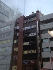 【速報】アキバヨドバシ付近で火事