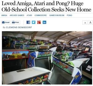 世界最大級のゲーム博物館が閉鎖「誰かまとめて引き取って」 → 1万台の家庭用ゲーム機&4千台のアーケードゲーム etc