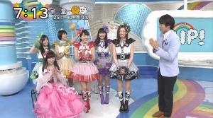 【ももクロ】「ZIP!」最終日は北川景子を含む「きもクロ」が出演!枡アナのダンスワロタwwww(動画あり)