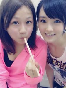 【定期】AKB48島田晴香がNMB48山本彩に寄生しはじめたぞwwwwwwww