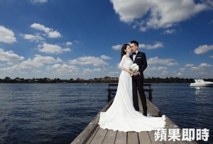 【台湾】 ビビアンの結婚記念写真が美しいと話題、 夫とオーストラリア4日間で撮影