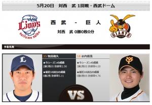 今日の杉内と牧田、どっちが勝つと思う?