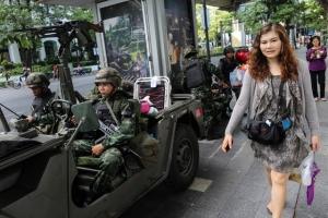 【タイ】軍事クーデター、陸軍が全権掌握と発表