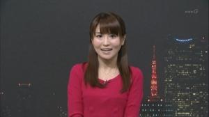NHK岡村真美子さんがお辞儀したらまたなんか見えたwwwww【お天気お姉さん】