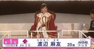 【AKB48 37thシングル選抜総選挙】スポーツ新聞各紙がまゆゆの中国票について一斉報道【渡辺麻友】