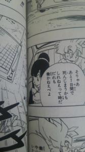 【画像あり】ドラゴンボール33巻96ページ3コマ目のチチが本当に可愛すぎて抜けるwwwwww