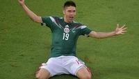 メキシコが1-0でカメルーンに勝利!ペラルタ決勝ゴール、ドスサントスは誤審被害