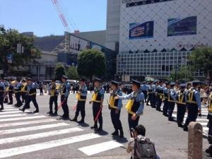 【画像】渋谷スクランブル警察多すぎワロタwwwwwwww
